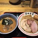 松戸中華そば 富田食堂 - 濃厚特製つけ麺(1,150円)