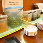 中村商店 - トッピングサービスコーナー