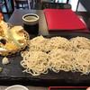 板そば 仁や - 料理写真:板そば天ぷら 大盛 1,800円