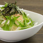 串特急 - 水菜と大根サラダ