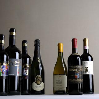【一皿ごとにグラスで提供】プロに身を委ねるペアリングワイン