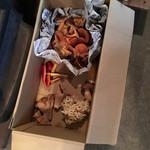 仙人小屋 - 収穫されたキノコたち