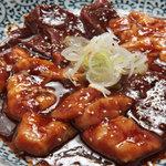 日比谷三源豚 - ホルモン盛合せ 980円~ 人気のホルモン♪新鮮でめっちゃ美味しく、ヘルシーです!