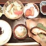 球磨川 - ひじき御飯定食