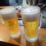 なつかし屋 - ビールで乾杯