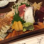 新中野まとい寿司 - 2017.7.08 刺盛り 上ネタで大満足!