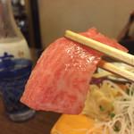 新中野まとい寿司 - マグロ霜降ってる。