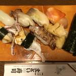 新中野まとい寿司 - 私の好きなネタばかりあるので大好きです(^-^)