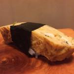 新中野まとい寿司 - ドカ〜ンと玉子焼き