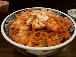 天菊 - 「かき揚げ丼」アップ