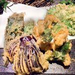 六本木 夜景魚市場 うお天 - 鱧と旬彩の天ぷら(来店時おすすめの限定品)
