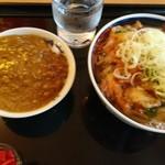 ポーカードッグ - かき揚げうどんとミニカレー(17-07)
