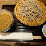 松の實 - つけ麺たぬき(850円)