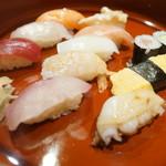 ひょうたん寿司 - サーヴィス握り