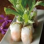 海老と水菜のベトナム生春巻き