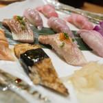 ひょうたん寿司 - いろいろ握り