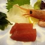 活魚・鍋料理 風車 - 白身がクエ