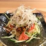 ゴールデンユニコーン - 冷たいジャアジャア麺チャイナ肉味噌がけ