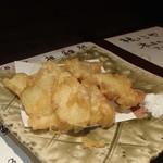 根っこや - 出雲生姜の天ぷら