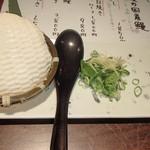 根っこや - 奥出雲の青豆ザル豆腐