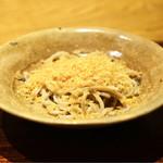 ごだん 宮ざわ - ☆唐墨蕎麦