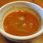 麺屋 高橋 - スープ割済み