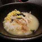薩摩ごかもん - 白濁したスープがうまーい