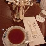 ロイヤルクリスタルカフェ - 2011年2月紅茶もポットサービス