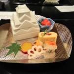 シェラトン都ホテル大阪 日本料理 うえまち - 焼物と旬の彩り(蓋あり)