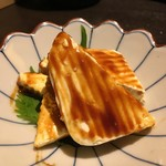 郷土和食と個室居酒屋 久保田屋 - クリームチーズの越後味噌漬け