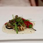 69852709 - ◆日間賀島産岩牡蠣のグリル エストラゴン風味のクリームソース