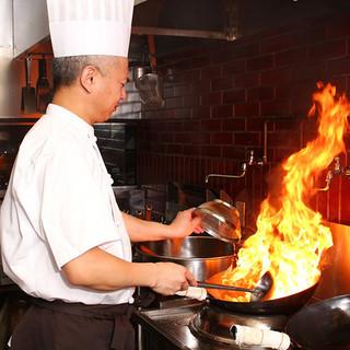 中華料理の伝統を大切にするシェフ