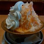 コメダ珈琲店 - 料理写真:「みかん・練乳・ソフト氷」