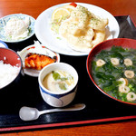 69854667 - ぷりぷりエビマヨ定食