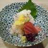 おばんざい京 筍矢  - 料理写真:ハモ2種、メジマグロ