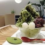 京カフェ - 宇治抹茶600円