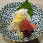 おばんざい京 筍矢  - ハモ2種、メジマグロ