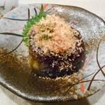 おばんざい京 筍矢  - 賀茂茄子鴫焼き