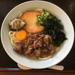 マリア食堂 - 料理写真:スペシャルうどん650円