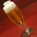 スパイス クラフト - 川崎小川町バル(1品と1杯で800円相当)の『生ビール』2017年7月