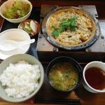 割烹 川松 - 柳川定食¥1080-