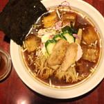 麺ダイニング ととこ - つったいラーメン(850円、真上から)