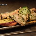 ヒロキ - 鉄板焼きホタテ香草バター焼き