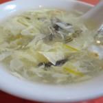 北京料理 東興樓 - 何気に玉子スープもうまい