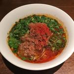 ダイキ麺 - パクチー入り冷やし台湾ラーメン
