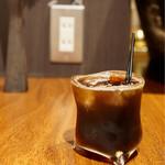 みじんこ - 急冷アイスコーヒー¥500 爽やかな苦味がすっ〜〜と喉を通ります。