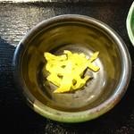 焼肉 ふくざき - 漬物:牛めし丼セット(ランチパスポート利用)