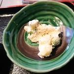 焼肉 ふくざき - ポテトサラダ:牛めし丼セット(ランチパスポート利用)