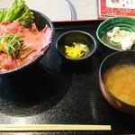 焼肉 ふくざき - 牛めし丼セット(ランチパスポート利用):850円→500円