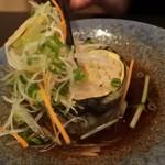 旬菜ふきよせ - 蕎麦を包む